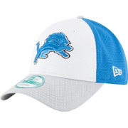 New Era Men's Detroit Lions Perfect Block White 9Forty Adjustable Hat