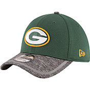 New Era Men's Green Bay Packers 2016 Training Camp Official 39Thirty Flex Hat