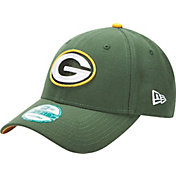 New Era Men's Green Bay Packers Green League 9Forty Adjustable Hat