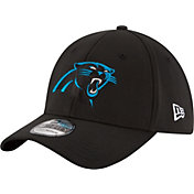 New Era Men's Carolina Panthers 39Thirty Black Flex Hat