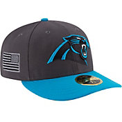 New Era Men's Carolina Panthers Crafted in America 59Fifty Graphite Fitted Hat
