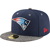 New Era Men's New England Patriots 2016 NFL Draft 59Fifty Navy Fitted Hat