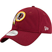New Era Men's Washington Redskins Perf Shore 9Twenty Red Adjustable Hat