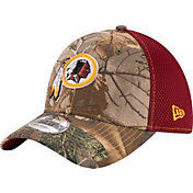 New Era Men's Washington Redskins Real Tree Neo 39Thirty Camouflage Flex Hat