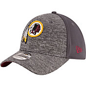 New Era Men's Washington Redskins Shadowed Team 39Thirty Grey Flex Hat
