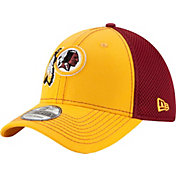 New Era Men's Washington Redskins Team Front Neo 39Thirty Flex Hat