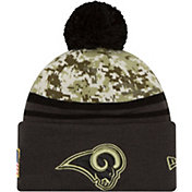New Era Men's Los Angeles Rams Salute to Service 2016 Camo Cuff Knit