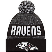 New Era Men's Baltimore Ravens Sport Black Knit Beanie