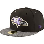 New Era Men's Baltimore Ravens 2016 NFL Draft 59Fifty Black Fitted Hat