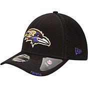 New Era Men's Baltimore Ravens 39Thirty Neo Flex Black Hat