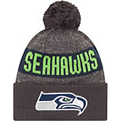 New Era Men's Seattle Seahawks Sport Grey Knit Beanie