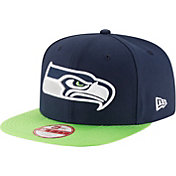 New Era Men's Seattle Seahawks Sideline 2016 9Fifty On-Field Adjustable Hat
