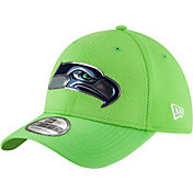 New Era Men's Seattle Seahawks Color Rush 2016 On-Field 39Thirty Flex Hat