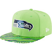 New Era Men's Seattle Seahawks Color Rush 2016 On-Field 9Fifty Adjustable Hat