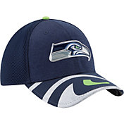 New Era Men's Seattle Seahawks 2017 NFL Draft 39Thirty Adjustable Navy Hat