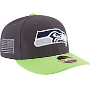 New Era Men's Seattle Seahawks Crafted in America 59Fifty Graphite Fitted Hat