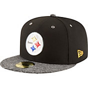 New Era Men's Pittsburgh Steelers 2016 NFL Draft 59Fifty Black Fitted Hat