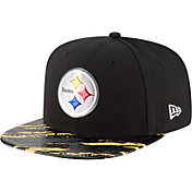New Era Men's Pittsburgh Steelers Color Rush 2016 On-Field 9Fifty Adjustable Hat