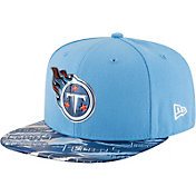 New Era Men's Tennessee Titans Color Rush 2016 On-Field 9Fifty Adjustable Hat