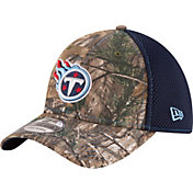 New Era Men's Tennessee Titans Real Tree Neo 39Thirty Camouflage Flex Hat