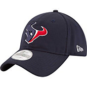New Era Men's Houston Texans Perf Shore 9Twenty Navy Adjustable Hat