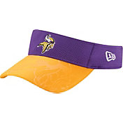 New Era Men's Minnesota Vikings Sideline 2016 Purple/Gold Visor