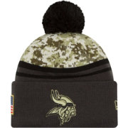 New Era Men's Minnesota Vikings Salute to Service 2016 Camo Cuff Knit