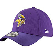 New Era Men's Minnesota Vikings Color Rush 2016 On-Field 39Thirty Flex Hat