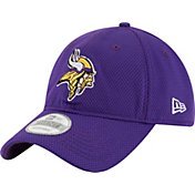 New Era Men's Minnesota Vikings Perf Shore 9Twenty Purple Adjustable Hat