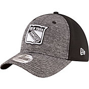 New Era Men's New York Rangers Shadowed Grey/Black Flex Hat