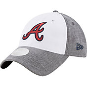 New Era Women's Atlanta Braves 9Twenty Sparkle Shade White/Grey Adjustable Hat