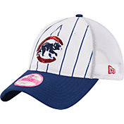 New Era Women's Chicago Cubs 9Twenty White Pinstripe Hat
