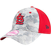 New Era Women's St. Louis Cardinals 9Forty Glamo Camo Red Adjustable Hat