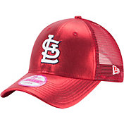 New Era Women's St. Louis Cardinals 9Forty Glam Team Red Adjustable Hat