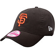 New Era Women's San Francisco Giants 9Forty Essential Black Adjustable Hat
