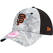 New Era Women's San Francisco Giants 9Forty Glamo Camo Black Adjustable Hat