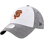 New Era Women's San Francisco Giants 9Twenty Sparkle Shade White/Grey Adjustable Hat