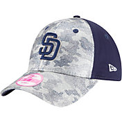 New Era Women's San Diego Padres 9Forty Glamo Camo Navy Adjustable Hat