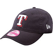 New Era Women's Texas Rangers 9Forty Essential Royal Adjustable Hat