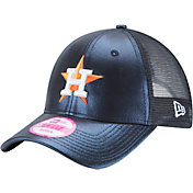 New Era Women's Houston Astros 9Forty Glam Team Navy Adjustable Hat