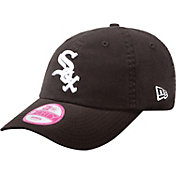 New Era Women's Chicago White Sox Black 9Forty Essential Adjustable Hat