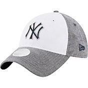 New Era Women's New York Yankees 9Twenty Sparkle Shade White/Grey Adjustable Hat