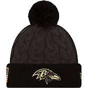 New Era Women's Baltimore Ravens Salute to Service 2016 Cuff Knit