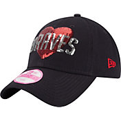 New Era Youth Girls' Atlanta Braves 9Twenty Model Fan Adjustable Hat