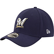 New Era Youth Milwaukee Brewers 39Thirty Classic Navy Flex Hat