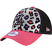 New Era Youth Girls' Los Angeles Dodgers 9Forty Cheetah Chic Adjustable Hat