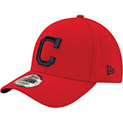 New Era Men's Cleveland Indians 39Thirty Red Flex Hat