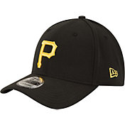 New Era Youth Pittsburgh Pirates 39Thirty Classic Black Flex Hat