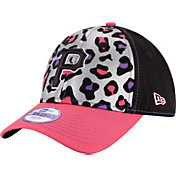 New Era Youth Girls' Pittsburgh Pirates 9Forty Cheetah Chic Adjustable Hat