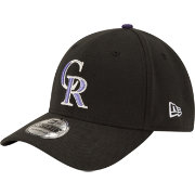 New Era Youth Colorado Rockies 39Thirty Classic Black Flex Hat